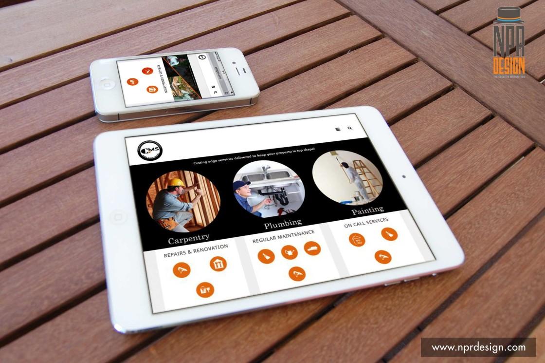 CMS Goa for NPR Design