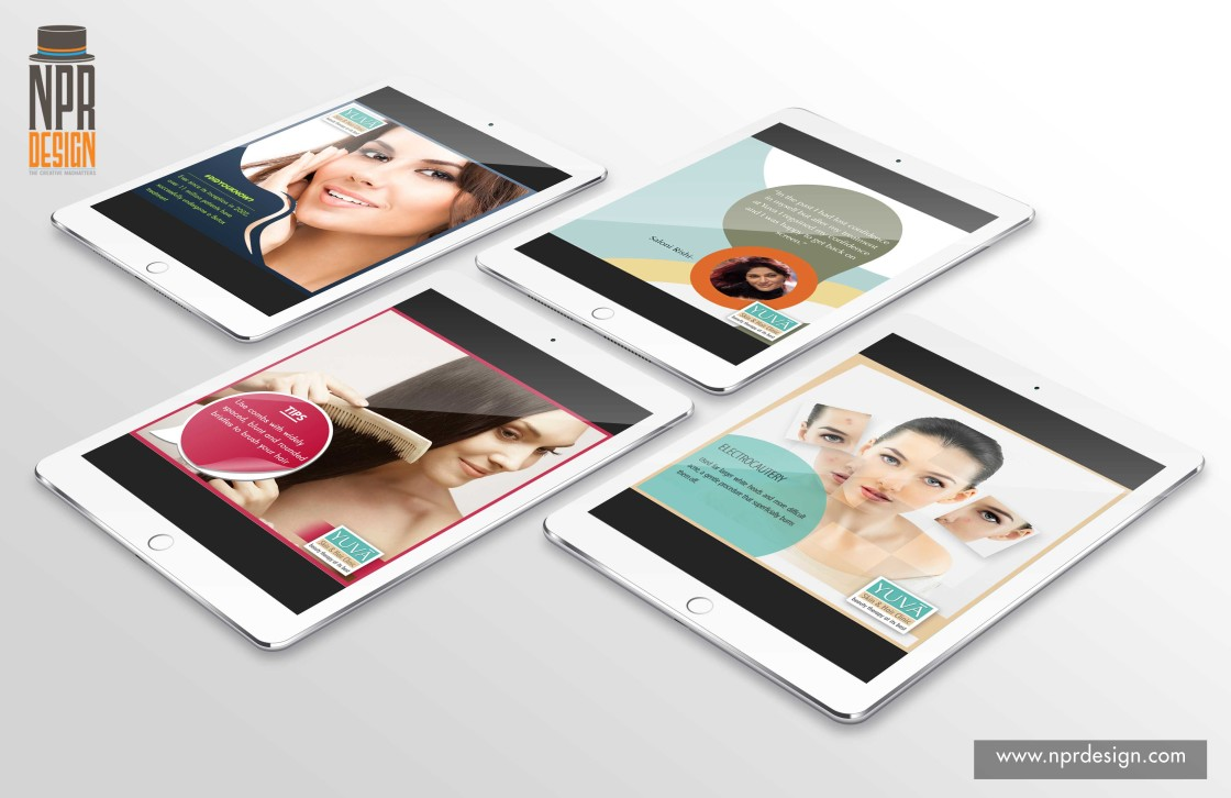 Yuva skin clinic for NPR Design